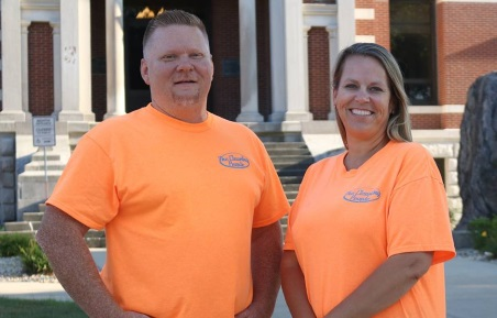 the cleaning people founders troy and holly